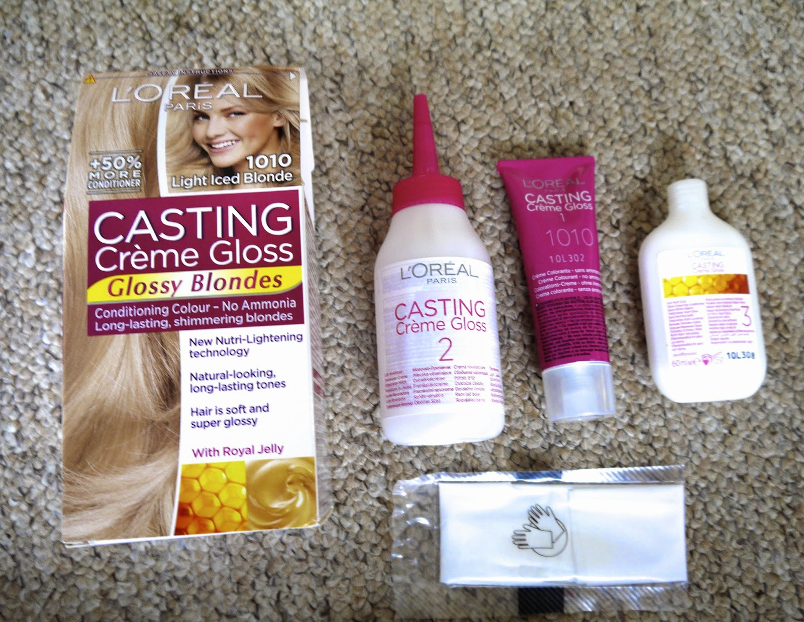 L'Oreal Casting Creme Gloss 'Glossy blondes' dye