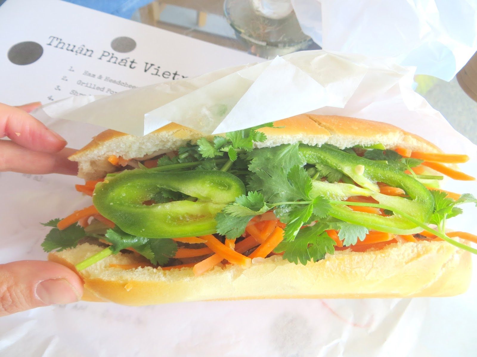 Bentobird: vietnamese spring roll and pork wrap bento
