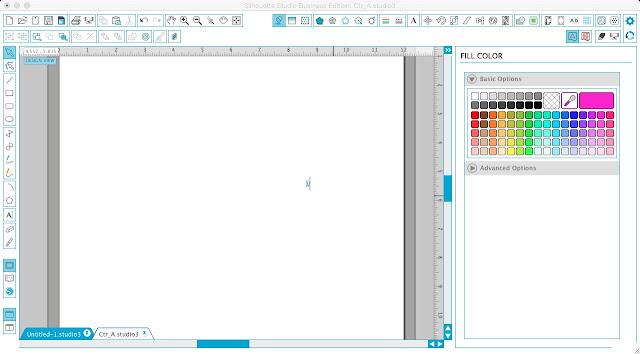 Silhouette Studio opening monogram sets