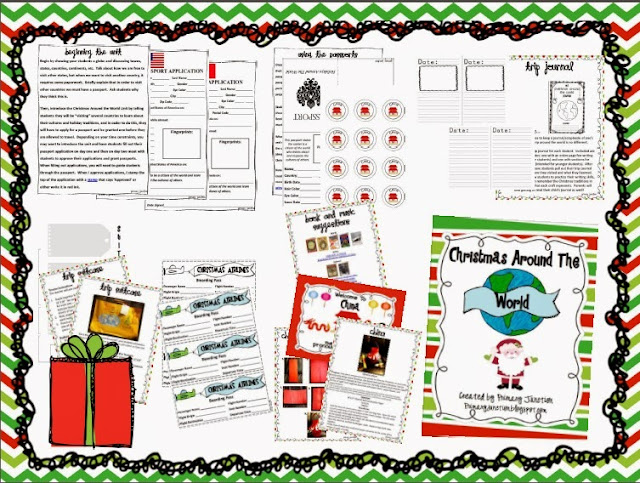 http://www.teacherspayteachers.com/Product/Celebrating-Christmas-Other-Holidays-Around-The-World-Unit-306649
