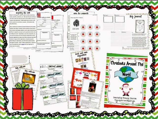 http://www.teacherspayteachers.com/Product/Celebrating-Christmas-Other-Holidays-Around-The-World-Unit-306649