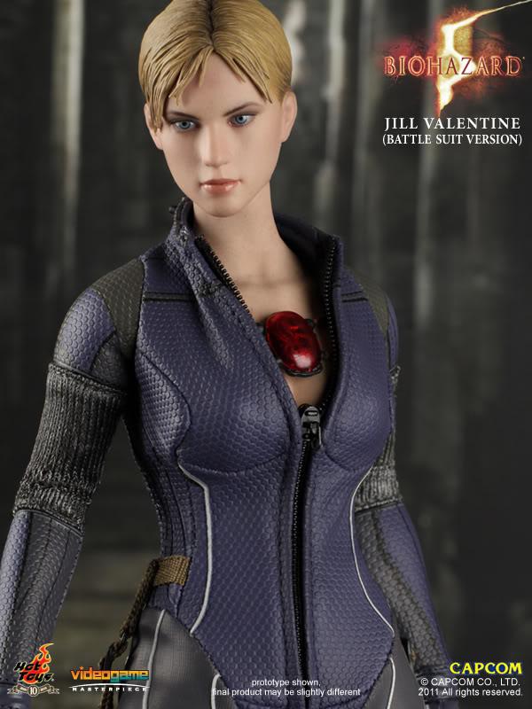 Female Action Figure Blog Hot Toys Biohazard 5 Jill Valentine Battle Suit Version
