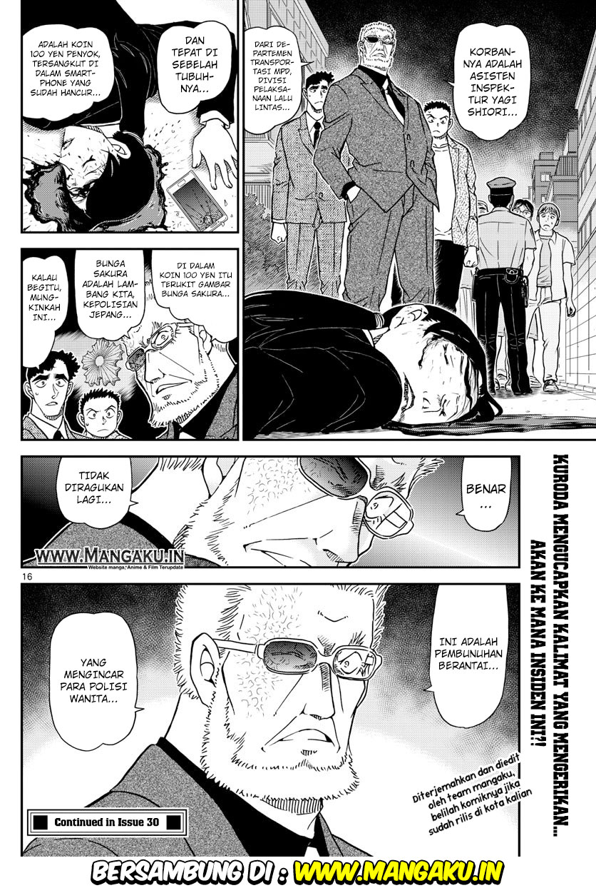 Baca Komik Detective Conan Chapter 1014 Komik Station