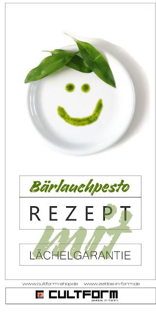 Lächelnder Teller. Bärlauch als Pesto - Wunderwaffe für (fast) jedes Rezept