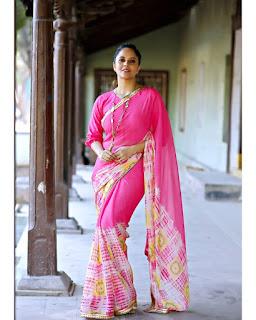 Anchor Anasuya Bharadwaj New Saree Photoshoot Gallery