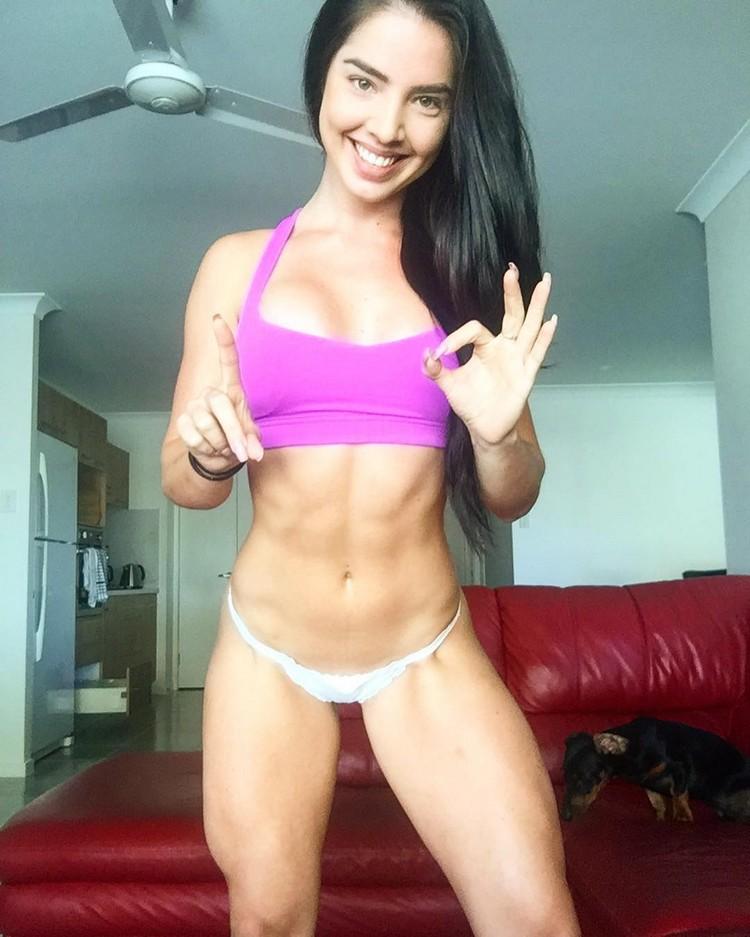 bikini Fitness Model Emma Dillon