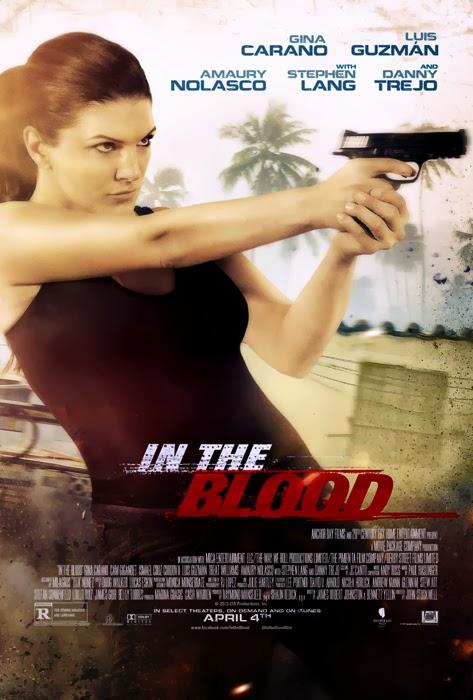 Poster pentru filmul de acţiune In The Blood