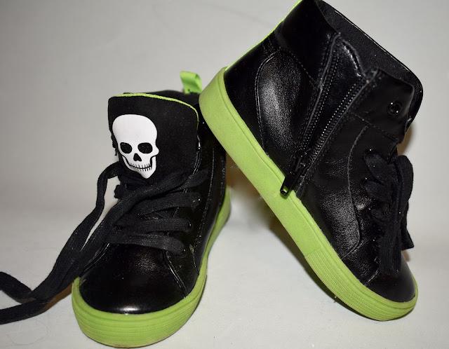 skull shoes for kids