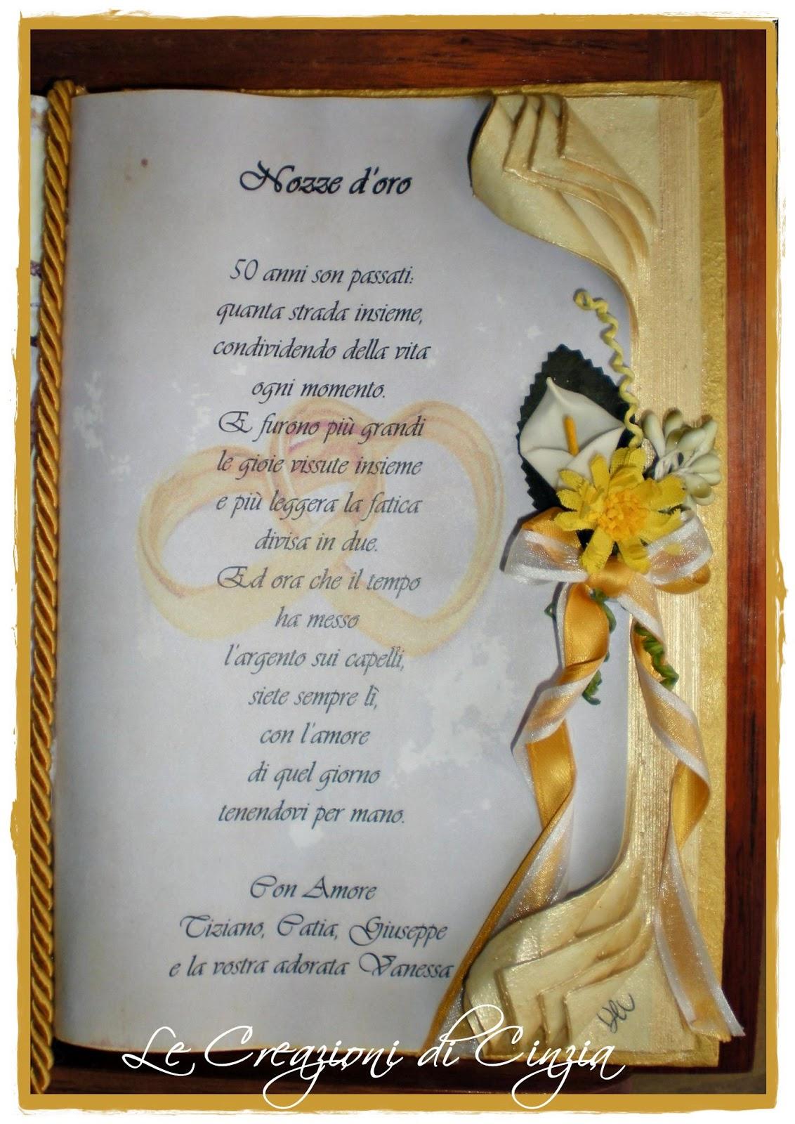 Super Poesie Anniversario Nozze D Oro LY36 » Regardsdefemmes XG81