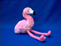 pink flamingo plush stuffed animal flavia