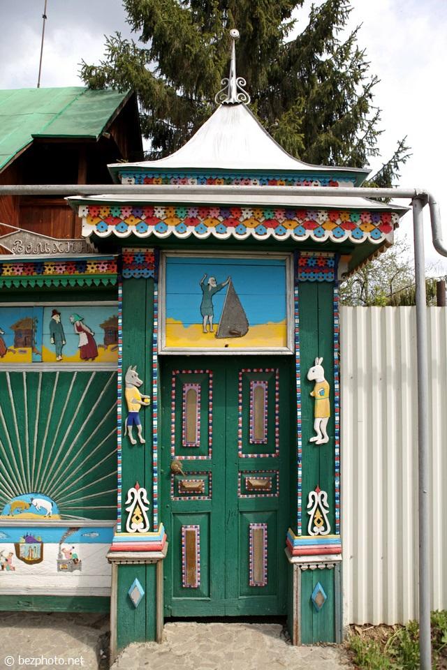 самые красивые деревянные дома фото
