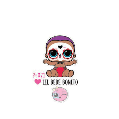 Мальчик ЛОЛ в маске Lil Bebe Bonito