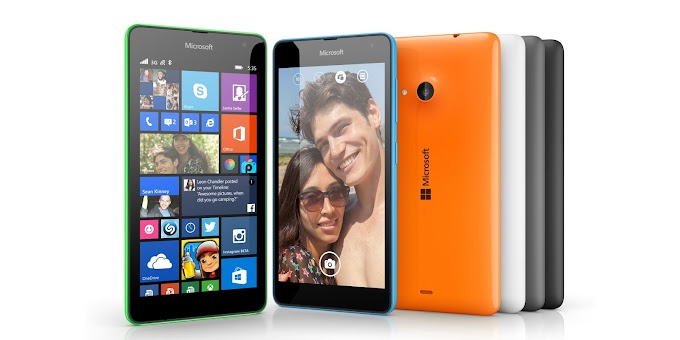 Microsoft Lumia 535 now available on Amazon U.K for £93