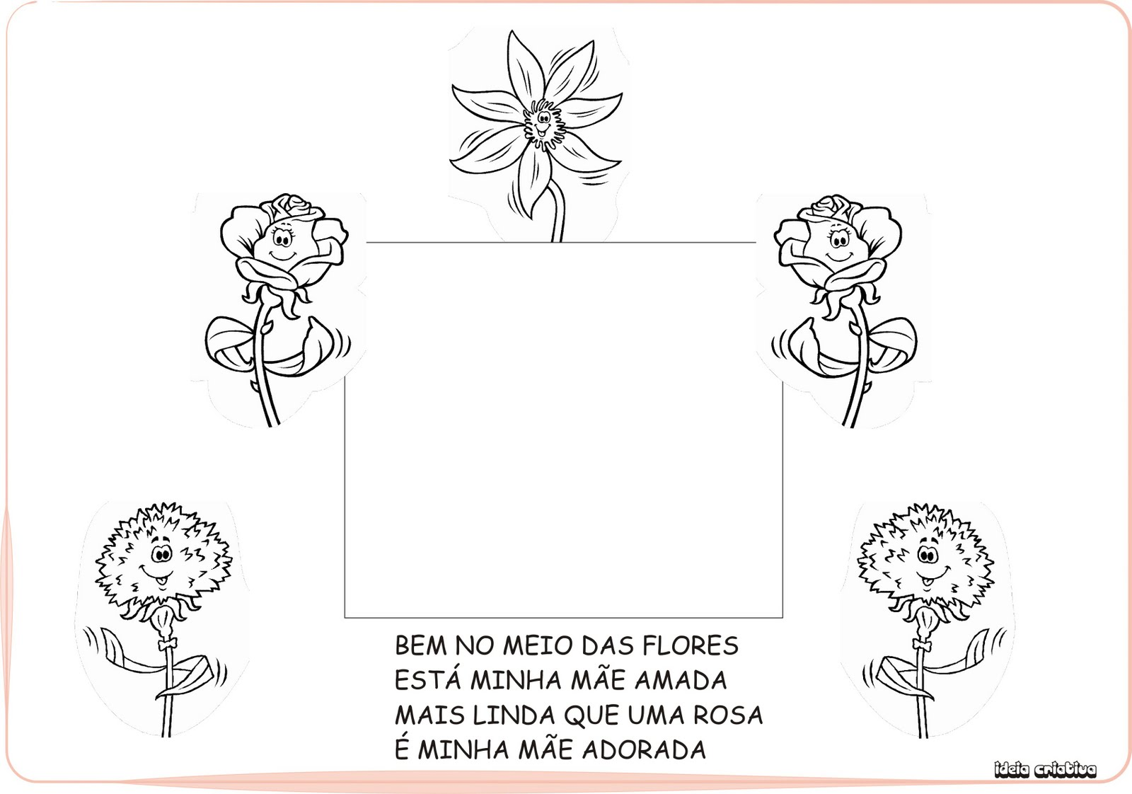 Album Homenagem Dia Das Maes Educacao Infantil
