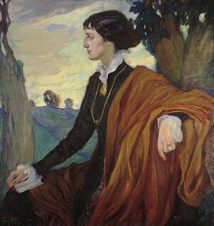 Άννα Αχμάτοβα: το πορτρέτο της από την Olga Della-Vos-Kardovskaya (1914)