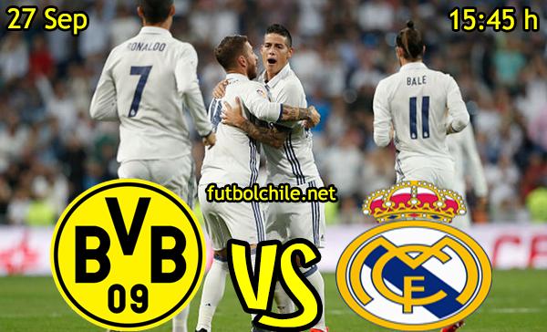 Ver stream hd youtube facebook movil android ios iphone table ipad windows mac linux resultado en vivo, online:  Borussia Dortmund vs Real Madrid
