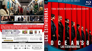 CARATULA LAS ESTAFADORAS - OCEAN'S EIGHT - 2018