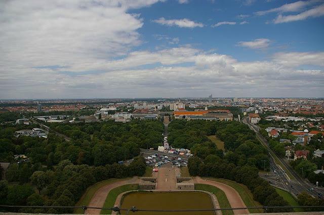 Monumento da Batalha das Nações (em alemão Völkerschlachtdenkmal), Leipzig, Alemanha