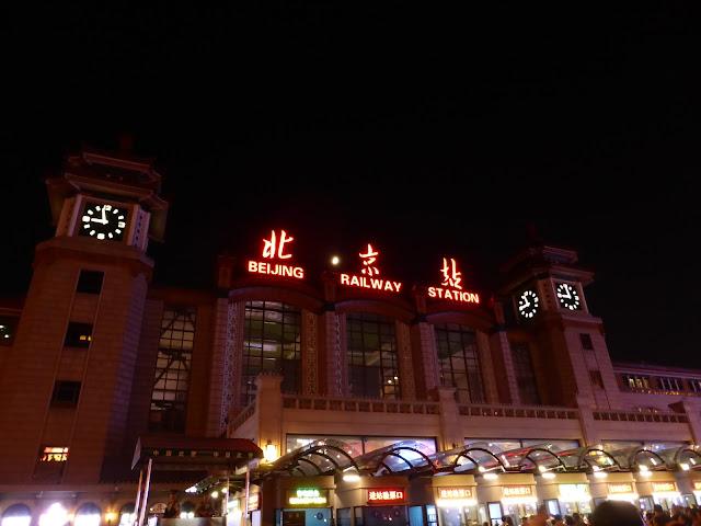 Estación de tren de Pekín