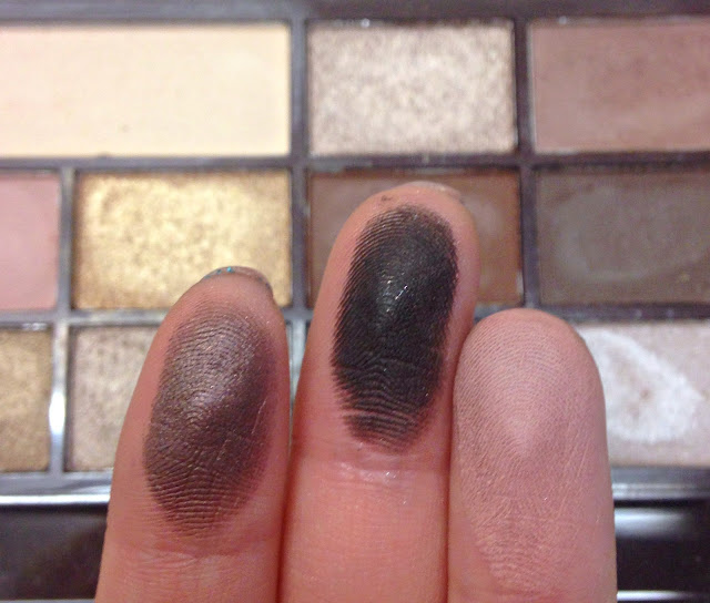 Make Up Revolution Death By Chocolate Swatches