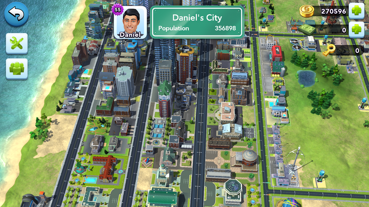 Layout Opportunities from Mayor Daniel's City in SimCity Buildit