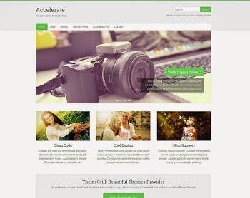 Ücretsiz WordPress Tema: Accelerate (Responsive)