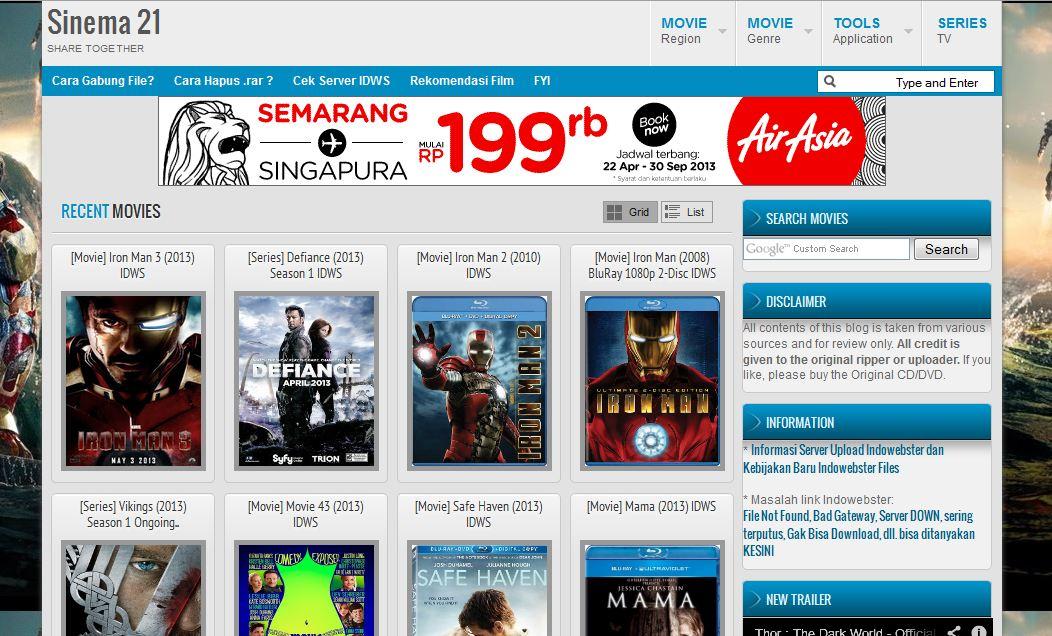 5 Daftar Situs Download Film Terpopuler Zonetinue