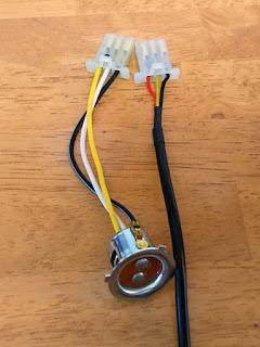 スフィアライト LEDヘッドライト NEOL PH12型 アドレスV125G用にコネクターの取付