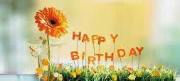 Un joli texte pour souhaiter joyeux anniversaire
