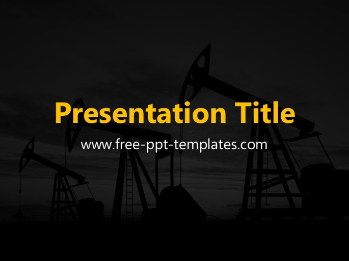 Oil Pumps PPT Template