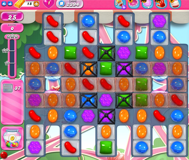 Candy Crush Saga level 2394