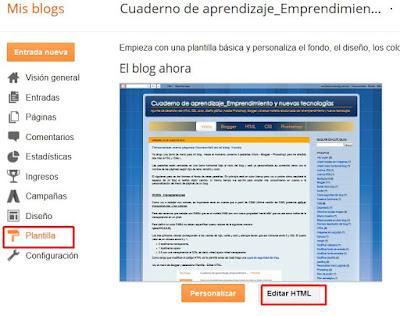 Editar HTML