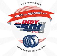 Logo Vinci gratis la ''500 miglia di Indianapolis'' con un tuo amico e vola in America!