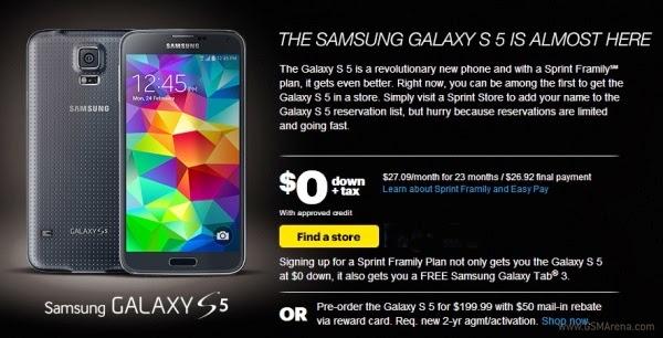 Harga Resmi Samsung Galaxy S5
