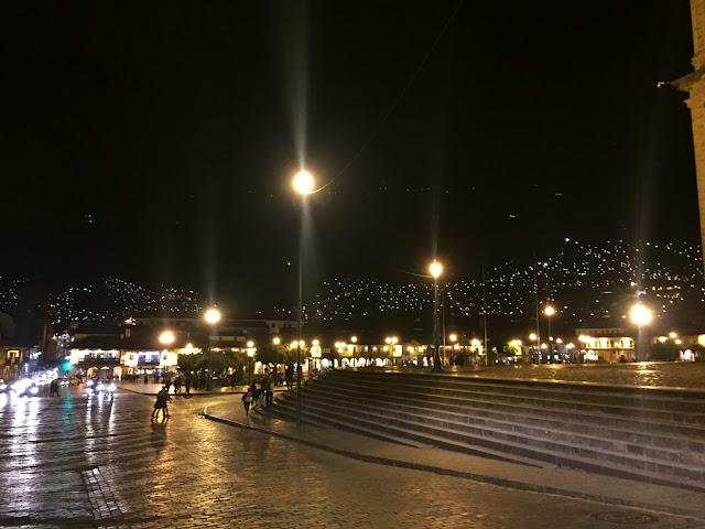 Cuzco de noche