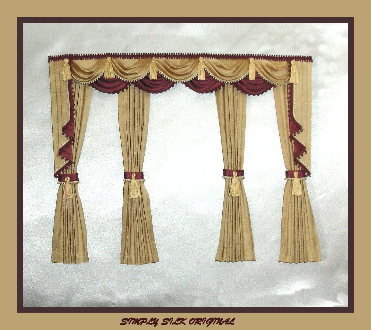 Lined Burlap Curtains Diy Cafe Curtain Tutorial