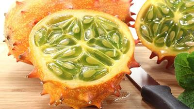 Buah Kiwano Melon - Sekitar Dunia Unik