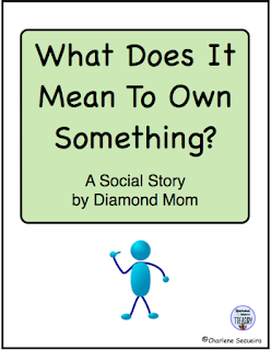 https://www.teacherspayteachers.com/Product/What-Does-It-Mean-To-Own-Something-410135