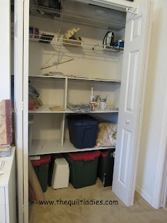 Redoing a closet to make it an office