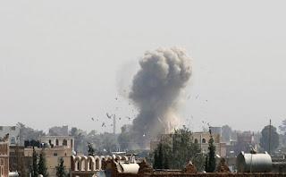Koalisi Arab Menghancurkan Gudang Senjata Syiah Houthi Di Yaman