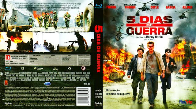 Capa Blu-ray 5 Dias de Guerra