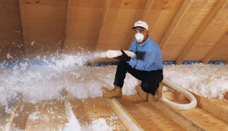 Fiberglass Attic Blow Insulation