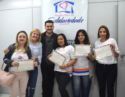 Fundo Social de Solidariedade de Registro-SP certifica mais 50 alunos da Escola de Moda e do Polo de Beleza