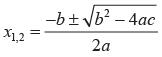 Cara mencari akar-akar persamaan kuadrat dengan cara menggunakan rumus ABC
