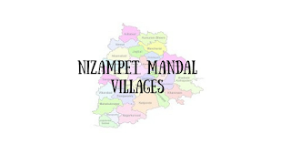 Nizampet Mandal with villages