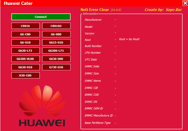 Download Huawei notification error fix Tool V1