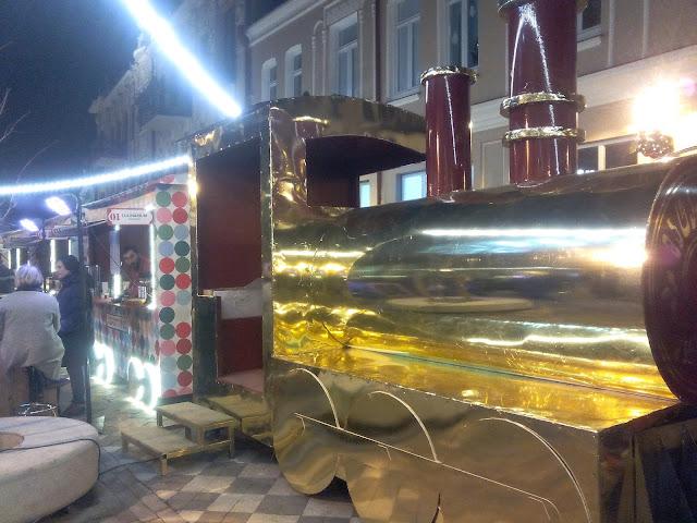 En Marjanishvili se instala un mercadillo navideño muy guay