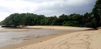 lokasi pasir putih pantai bantol