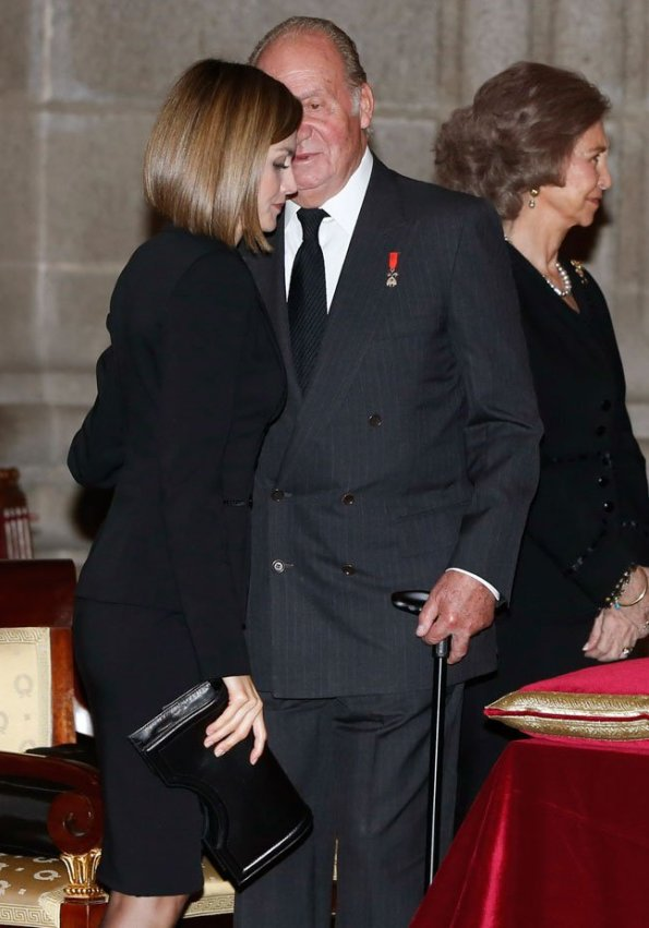 Spanish Royals Attended Funeral Mass For Carlos De Borbon Dos Sicilias