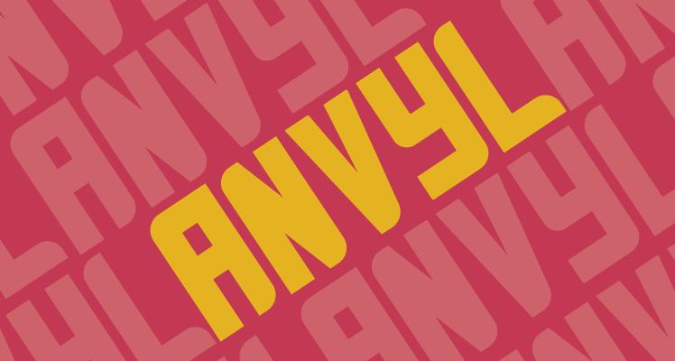 Anvyl Free font preview